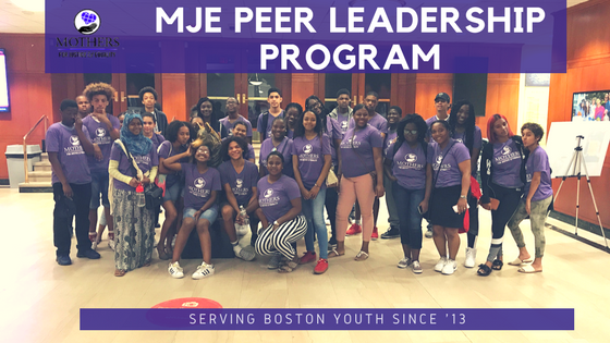 MJE PEER LEADERSHIP PROGRAM
